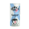 Office Snax Sugar 20oz Reclosable Canister 24/box