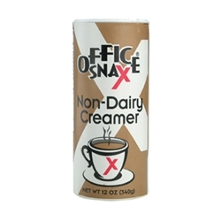 Office Snax Non-Dairy Creamer 12oz Reclosable Canister 24/box