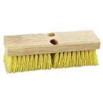 "Deck Brush Head 10"" Polypropylene Bristles"