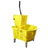 Continental Mop Bucket & Sidepress Wringer Combo Unit