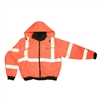 Reptyle Quilted Bomber Jacket Class 3 Type R Orange, Large