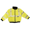 Reptyle Quilted Bomber Jacket Class 3 Type R Lime