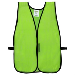 Safety Vest (non rated) Lime Green 12/pk