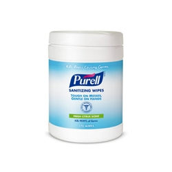 Purell Sanitizing Wipes Canister