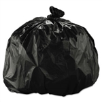 PolyTech Hi-Density Trash Bags 40x48 (40-45gallon) 16mic Black 250/bx