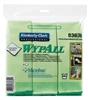 Kimberly Clark Professional WYPALL Microfiber Cloths Green 24/cs
