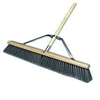 "Push Broom 24"" Gray Flagged ASM"