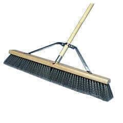 Push Broom 24 Quot Grey Flagged Asm