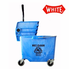 Impact Mop Bucket Combo 35-quart Blue