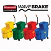 Rubbermaid WaveBrake Side-Press Wringer/Bucket Combo 35-quart