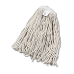 Cut End Wet Mop Head, Rayon #20 White