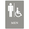 Mens Restroom w/ Wheel Chair Accessible